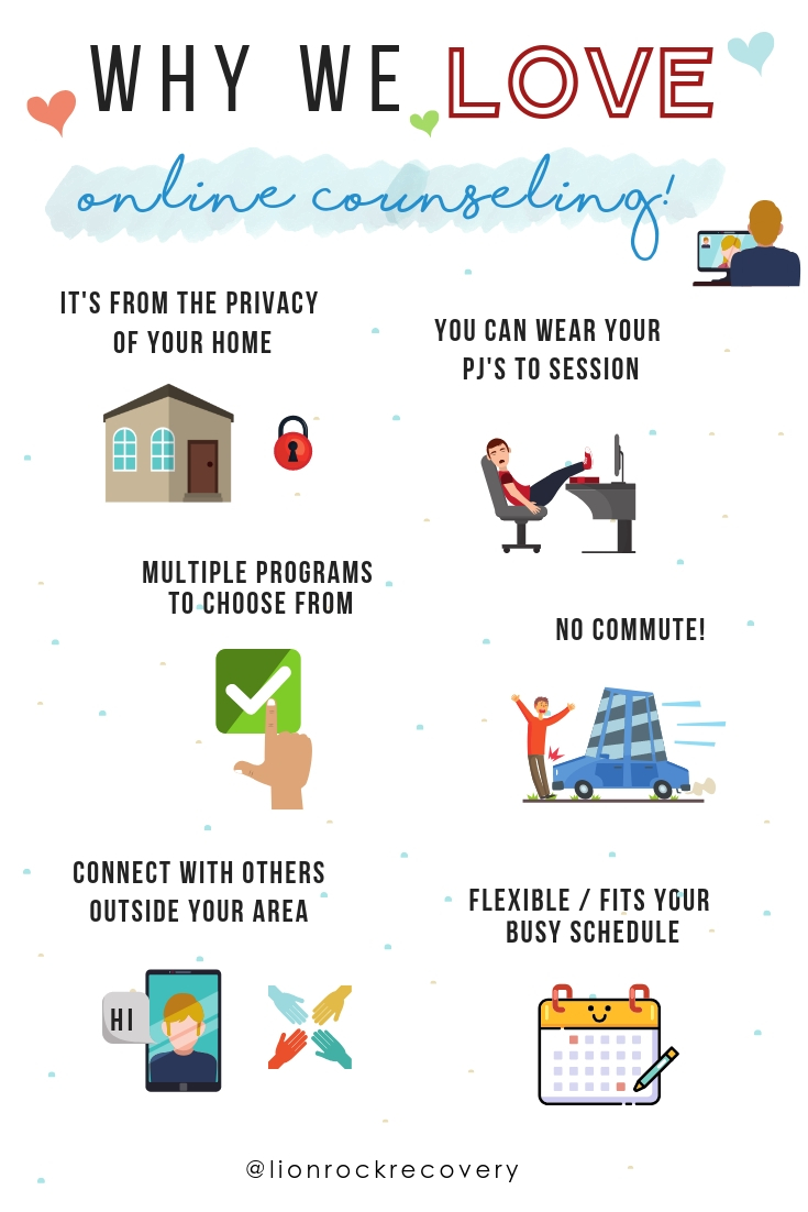 Infographics - Online Counseling