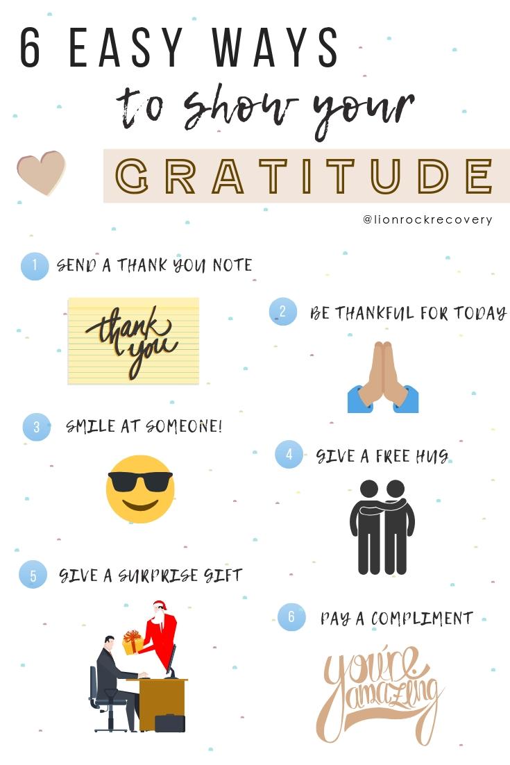 Infographics - Gratefulness